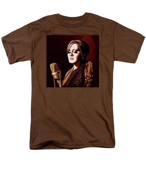 Adele Skyfall Gold Men's T-Shirt  (Regular Fit) by Paul Meijering