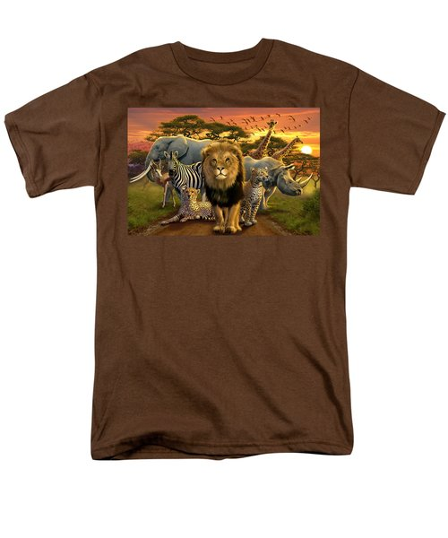 African Beasts T-Shirt by Andrew Farley