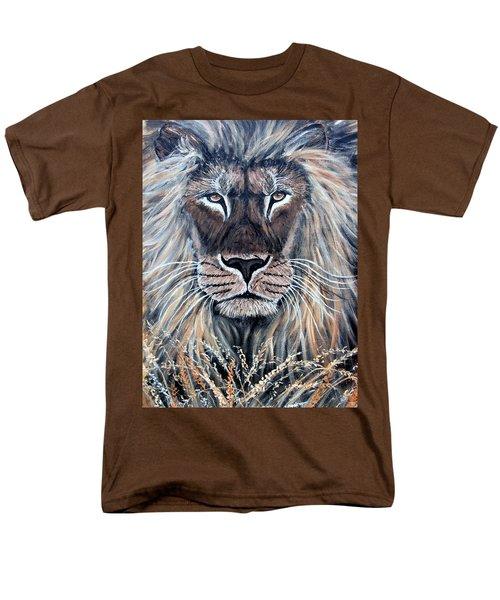 African Lion T-Shirt by Nick Gustafson