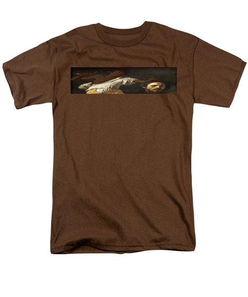 Ancient Human Instinct Men's T-Shirt  (Regular Fit) by David Bridburg