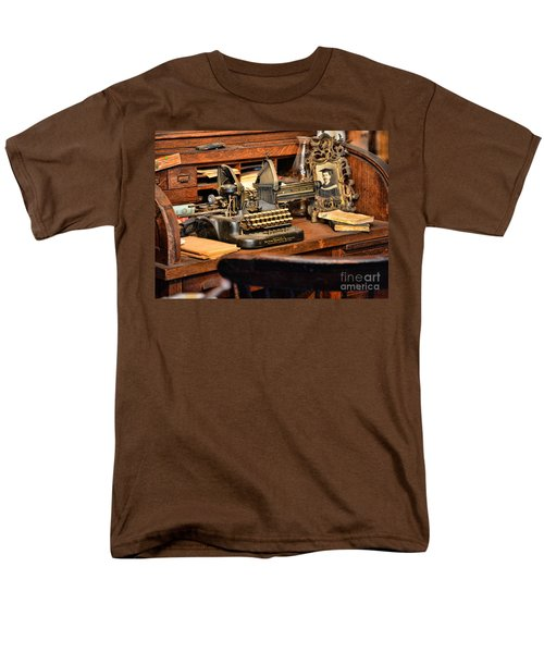 Antique Typewriter T-Shirt by Paul Ward