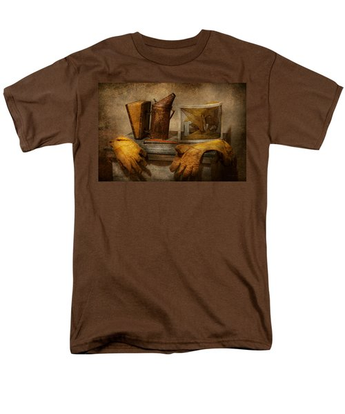 Apiary - The Beekeeper  T-Shirt by Mike Savad