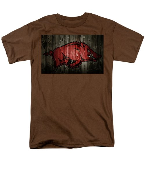Arkansas Razorbacks 2b Men's T-Shirt  (Regular Fit) by Brian Reaves