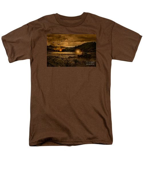Attack At Nightfall Men's T-Shirt  (Regular Fit) by Amanda Elwell