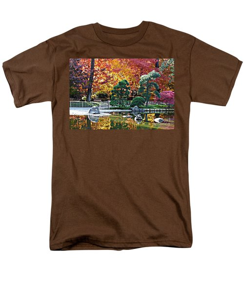 Autumn Glow in Manito Park T-Shirt by Carol Groenen