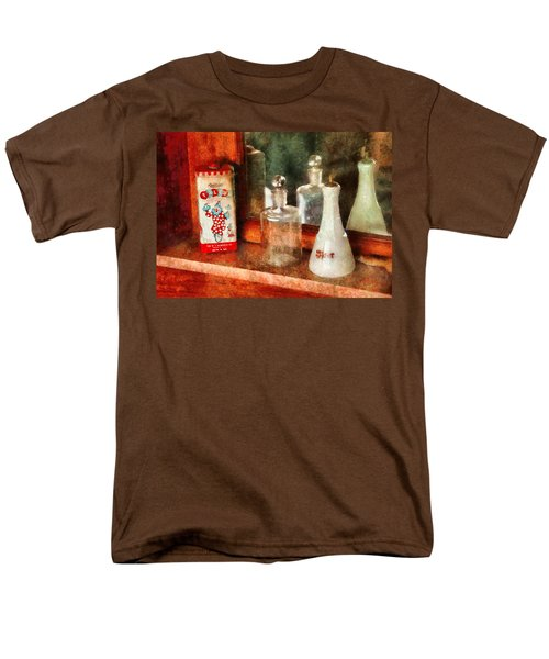 Barber - On a barbers counter  T-Shirt by Mike Savad