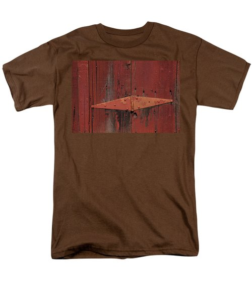 Barn hinge T-Shirt by Garry Gay