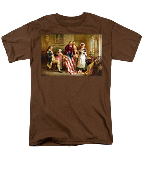 Betsy Ross and General George Washington T-Shirt by War Is Hell Store