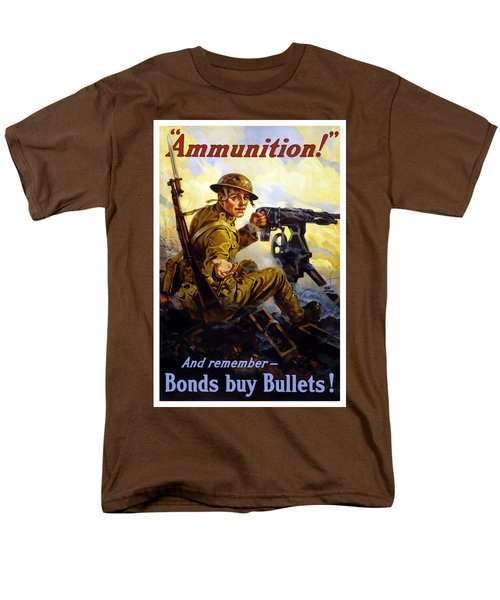 Bonds Buy Bullets T-Shirt by War Is Hell Store