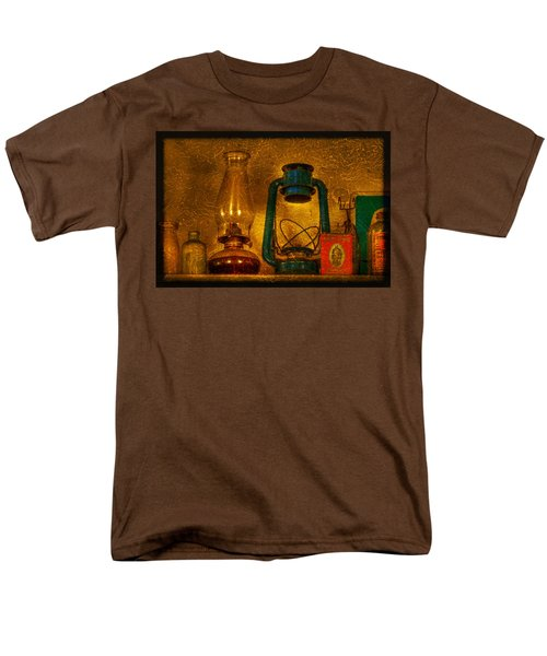 Bottles and Lamps T-Shirt by Evelina Kremsdorf
