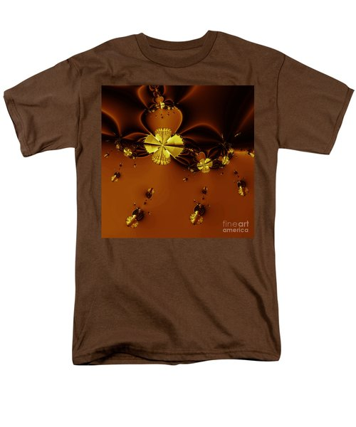 Bumble Beez Over Chocolate Lake . Square . S19 T-Shirt by Wingsdomain Art and Photography