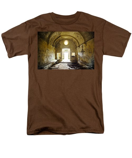 Church Ruin Men's T-Shirt  (Regular Fit) by Carlos Caetano