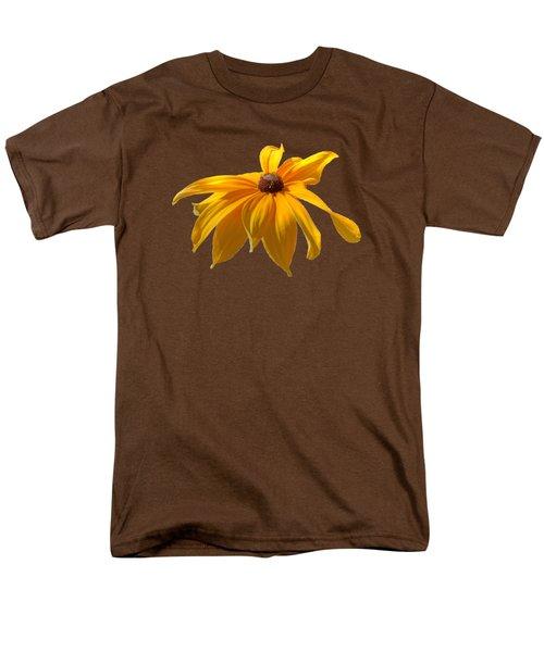Daisy - Flower - Transparent Men's T-Shirt  (Regular Fit) by Nikolyn McDonald
