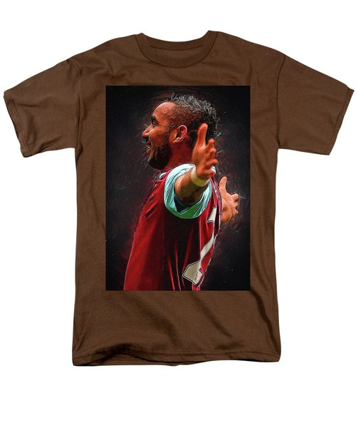 Dimitri Payet Men's T-Shirt  (Regular Fit) by Semih Yurdabak