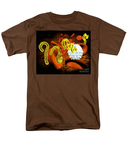 Ebola Virus T-Shirt by Victor Habbick Visions and SPL and Photo Researchers