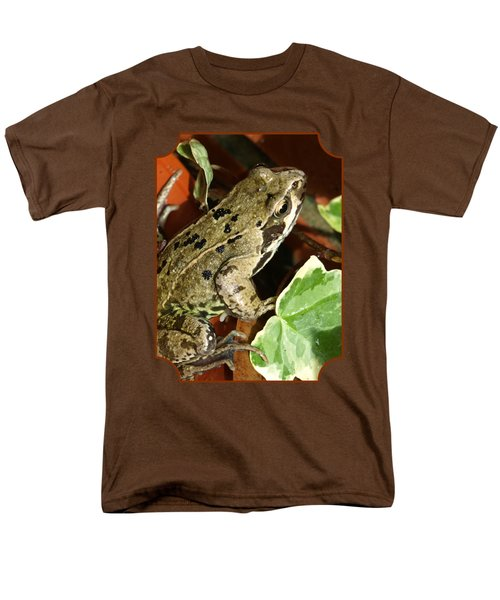 En Route To The Pond Men's T-Shirt  (Regular Fit) by Gill Billington