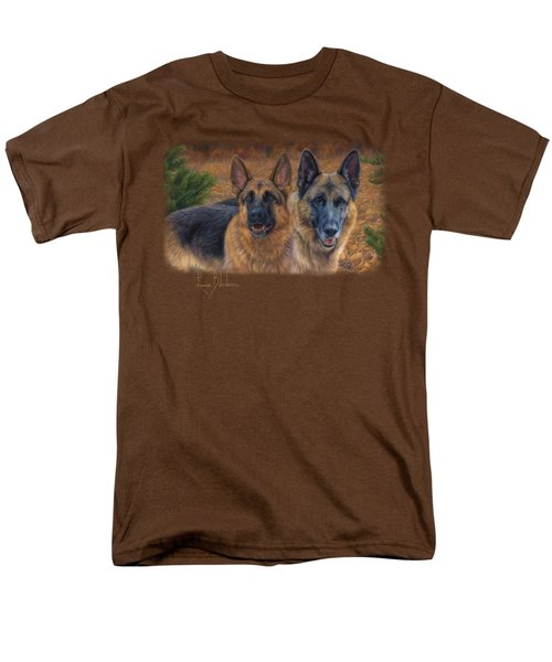 Enjoying The Fall Men's T-Shirt  (Regular Fit) by Lucie Bilodeau