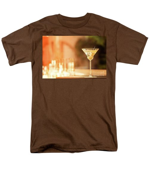 Evening With Martini Men's T-Shirt  (Regular Fit) by Ekaterina Molchanova