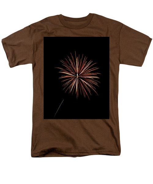 Fire Works T-Shirt by Gary Langley