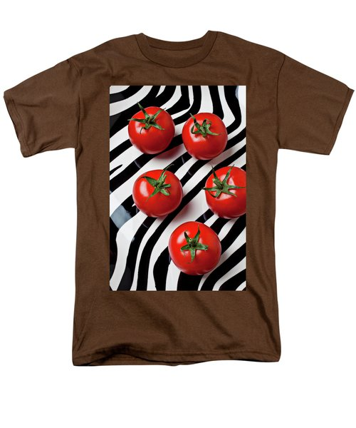 Five tomatoes  T-Shirt by Garry Gay