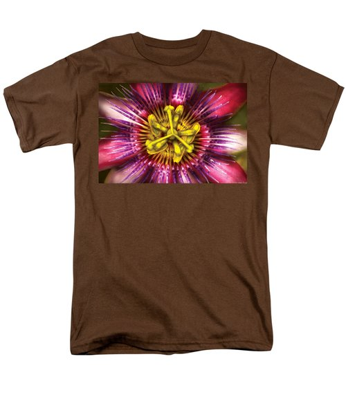 Flower - Intense Passion  T-Shirt by Mike Savad