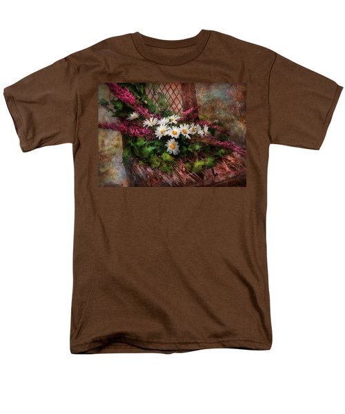 Flower - Still - Seat Reserved T-Shirt by Mike Savad