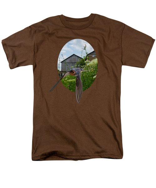 Flying Through The Farm Men's T-Shirt  (Regular Fit) by Jan M Holden