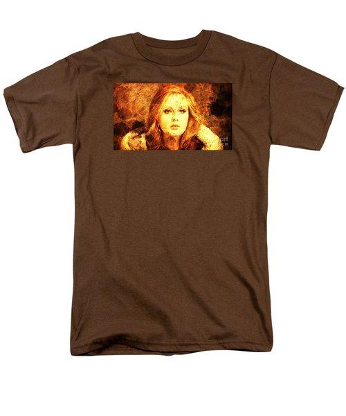 Golden Adele Men's T-Shirt  (Regular Fit) by Pablo Franchi