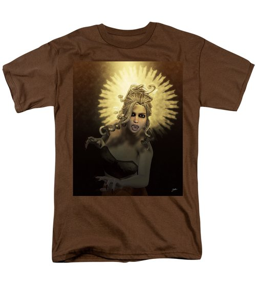 Gorgon Medusa Men's T-Shirt  (Regular Fit) by Joaquin Abella