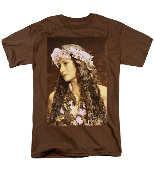 Hawaiian Wahine T-Shirt by Himani - Printscapes