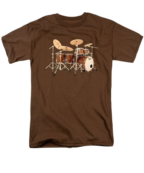 Hendrix  Drums Men's T-Shirt  (Regular Fit) by Shavit Mason