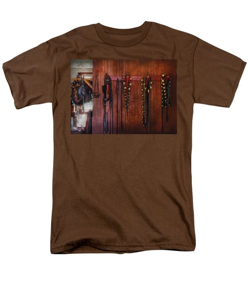 Horse Trainer - Jingle Bells T-Shirt by Mike Savad