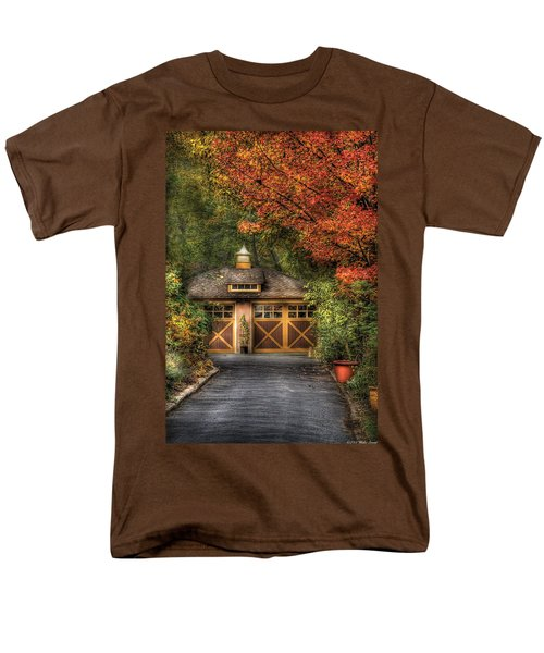 House - Classy Garage T-Shirt by Mike Savad