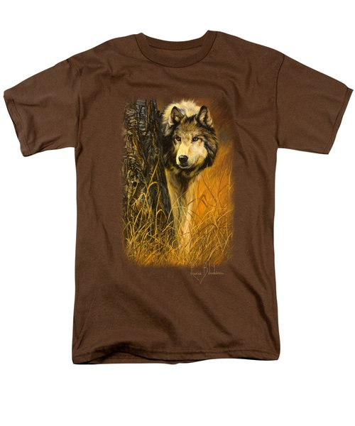 Interested Men's T-Shirt  (Regular Fit) by Lucie Bilodeau