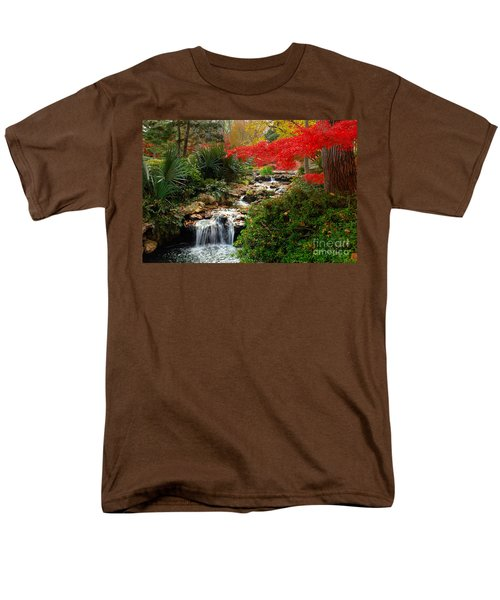 Japanese Garden Brook T-Shirt by Jon Holiday