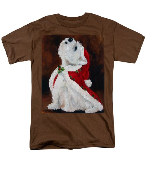 Joy To The World Men's T-Shirt  (Regular Fit) by Mary Sparrow