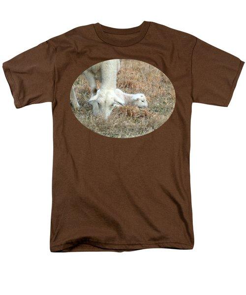 L Is For Lamb Men's T-Shirt  (Regular Fit) by Anita Faye