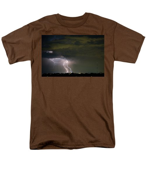 Lightning Man in the Clouds T-Shirt by James BO  Insogna