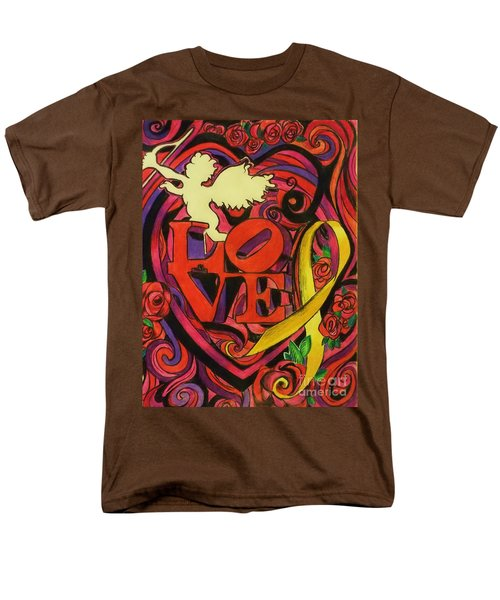 Love and Liberty T-Shirt by Kevin J Cooper Artwork