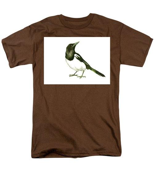 Magpie Men's T-Shirt  (Regular Fit) by Suren Nersisyan