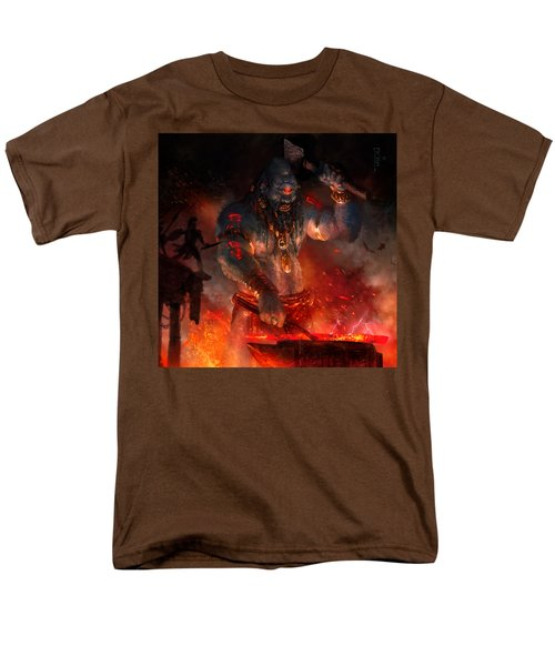 Maker Of The World Men's T-Shirt  (Regular Fit) by Ryan Barger
