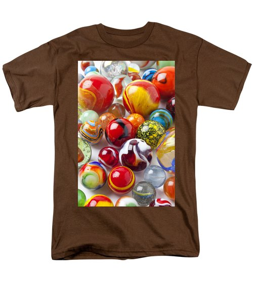 Marbles close up T-Shirt by Garry Gay