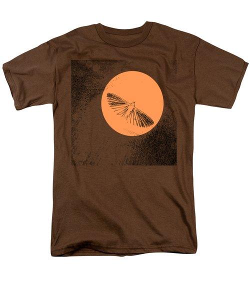 Moth In Orange Men's T-Shirt  (Regular Fit) by Sverre Andreas Fekjan