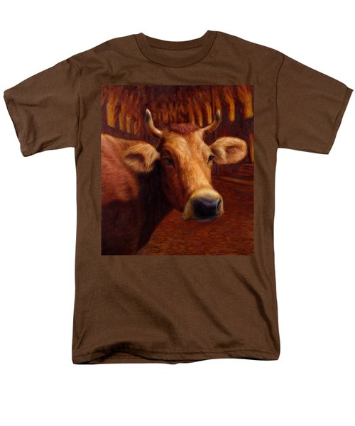 Mrs. O'Leary's Cow T-Shirt by James W Johnson