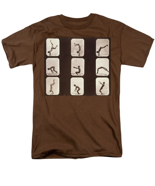 Muybridge Locomotion Back Hand Spring T-Shirt by Photo Researchers