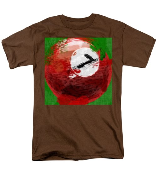 Number Seven Billiards Ball Abstract T-Shirt by David G Paul