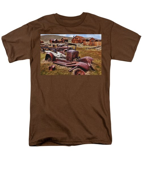 Old cars Bodie T-Shirt by Garry Gay