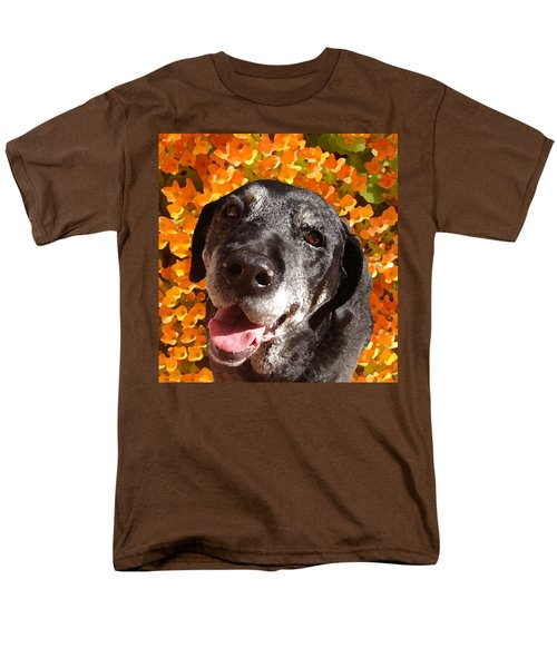 Old Labrador T-Shirt by Amy Vangsgard