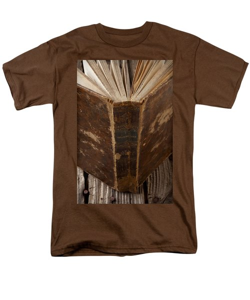 Old Shakespeare Book T-Shirt by Garry Gay