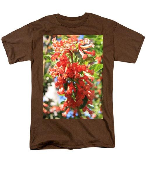 Orange Trumpet Flower T-Shirt by Carol Groenen